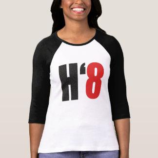 Camiseta H8TE - Vote não no suporte 8