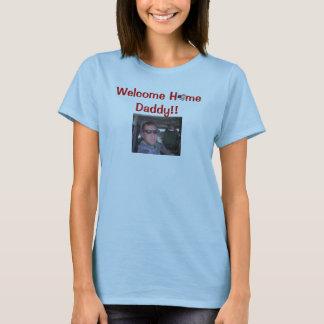 Camiseta H bem-vindo mim pai!!