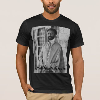 Camiseta H.I.M. Haile Selassie.