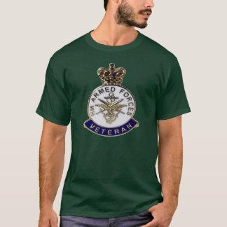 Camiseta H.M. O t-shirt do veterano das forças armadas
