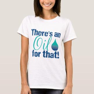 Camiseta Há um óleo para essa cerceta azul