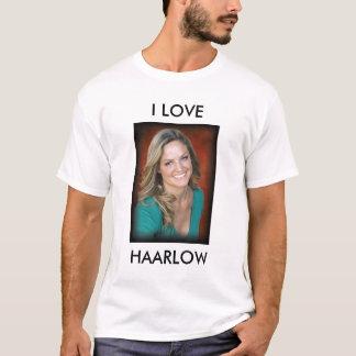 Camiseta Haarlow, EU AMO, HAARLOW