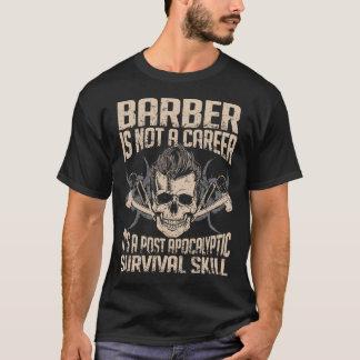 Camiseta Habilidade da sobrevivência do barbeiro - t-shirt