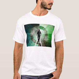 Camiseta Habilidades críticas da tecnologia e indústria