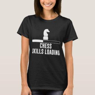 Camiseta Habilidades da xadrez que carregam jogos de mesa