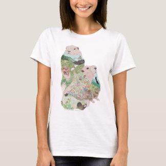 Camiseta Habitat de Ridge da marmota