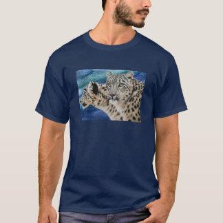 Camiseta Habitat do leopardo de neve
