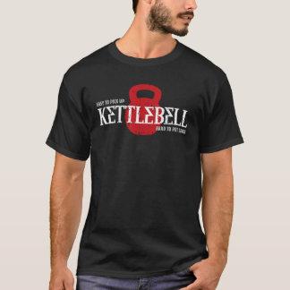 Camiseta Hábito do duro de Kettlebell