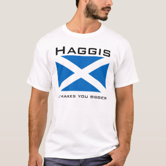 Camiseta Haggis, fá-lo mais grande