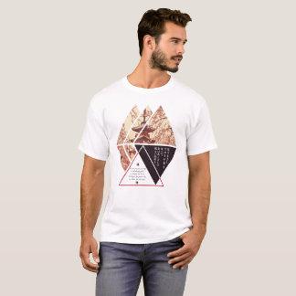 Camiseta Haicais geométricos japoneses do outono de Karuta