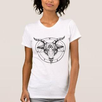Camiseta Hail Satanás 666 cross Pentagram anticristo Shirt