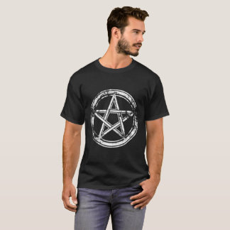 Camiseta Hail Satanás - 666 Cult cross anticristo Shirt -