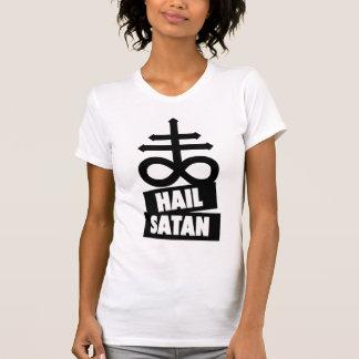 Camiseta Hail Satanás Shirt - 666 cross anticristo -