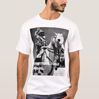 Camiseta Haile Selassie mim - marechal de campo