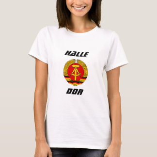 Camiseta Halle, RDA, Halle, Alemanha
