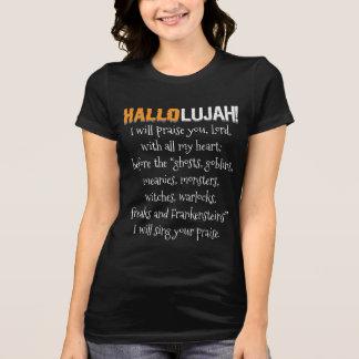 Camiseta Hallolujah! (Haleluhah) o Dia das Bruxas