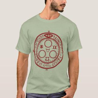 Camiseta Halo silencioso do monte do Sun (selo de Metatron)
