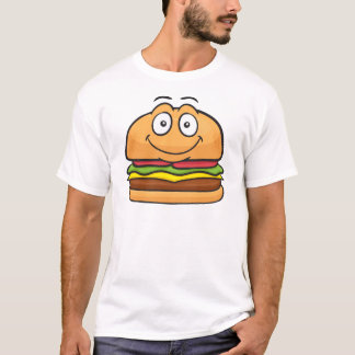 Camiseta Hamburger Emoji