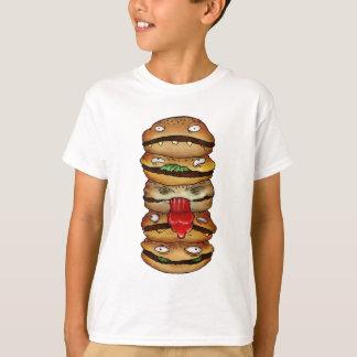 Camiseta Hamburguer da criança!