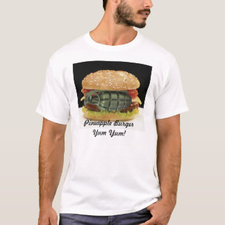 Camiseta Hamburguer do abacaxi