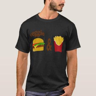 Camiseta Hamburguer e fritadas do vegetariano