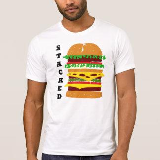 Camiseta Hamburguer triplo empilhado