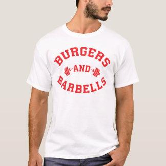 Camiseta Hamburgueres e Barbells - motivação de