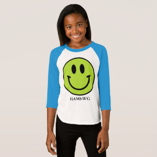 Camiseta HAMbWG - jérsei - smiley do limão