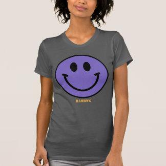 Camiseta HAMbWG - jérsei - smiley Emoji da lavanda