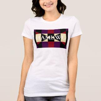 Camiseta HAMbWG - t-shirt - logotipo de w da cara de HAMbWG