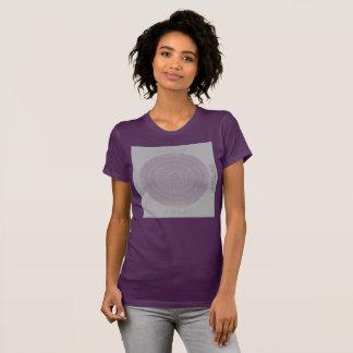 Camiseta HAMbyWG - círculo do Boho das mulheres na