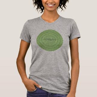 Camiseta HAMbyWG - círculo do Boho das mulheres no limão -