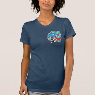 Camiseta Hammerheads no paraíso