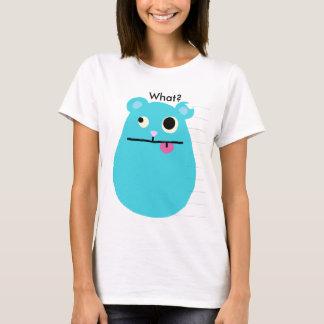 Camiseta Hamster azul