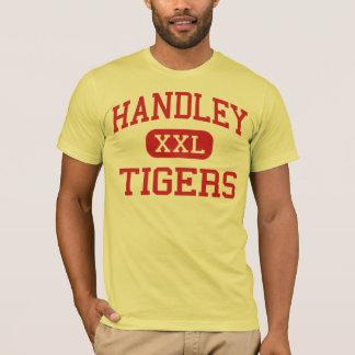 Camiseta Handley - tigres - segundo grau - Roanoke Alabama
