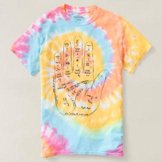 Camiseta Handsy.  Edição do Hippie