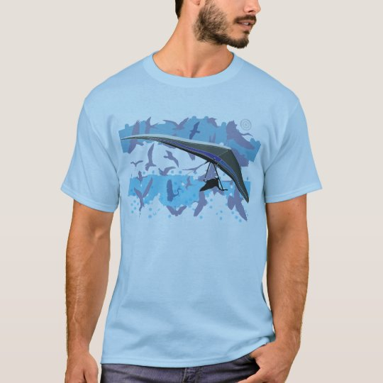 Camiseta HANG GLIDING Birds pontocentral