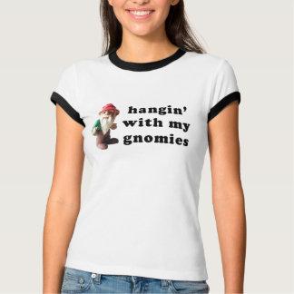 Camiseta Hangin com meu Gnomies