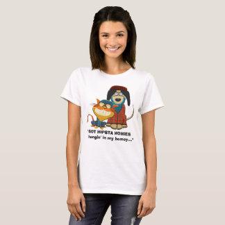 Camiseta Hangin OBTIDO de HIPSTA HOMIES no meu doméstico…