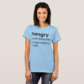 Camiseta Hangry: Definição de vista oficial da paródia