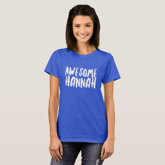 Camiseta Hannah impressionante