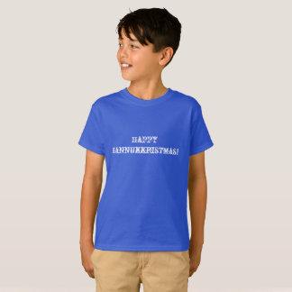 Camiseta Hannukkristmas feliz! Hanukkah e Natal em 1