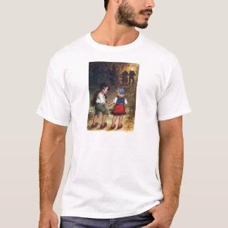 Camiseta Hansel e Gretel dirigem nas madeiras