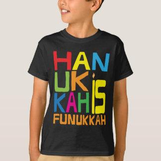 "Camiseta ""Hanukkah é T-Camisa dos miúdos de Funukkah"""