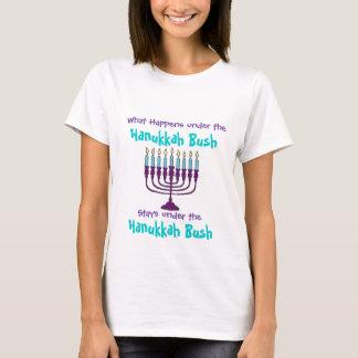 Camiseta Hanukkah Menorah