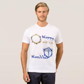 Camiseta Hanukkah Stars o t-shirt do Poli-Algodão dos
