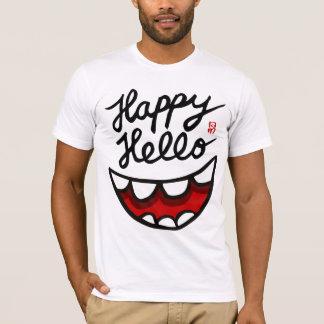 Camiseta Happy Hello BIG Smile