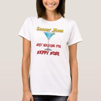 Camiseta Happy hour - mamã do futebol