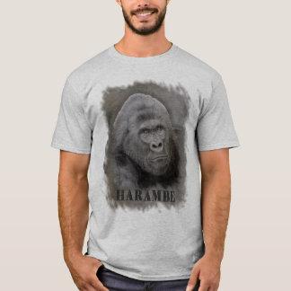 Camiseta Harambe (desenho) da grafite - grande tamanho da