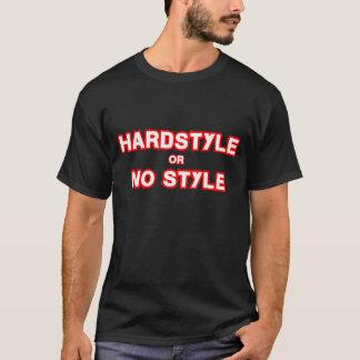 Camiseta Hardstyle ou nenhum estilo